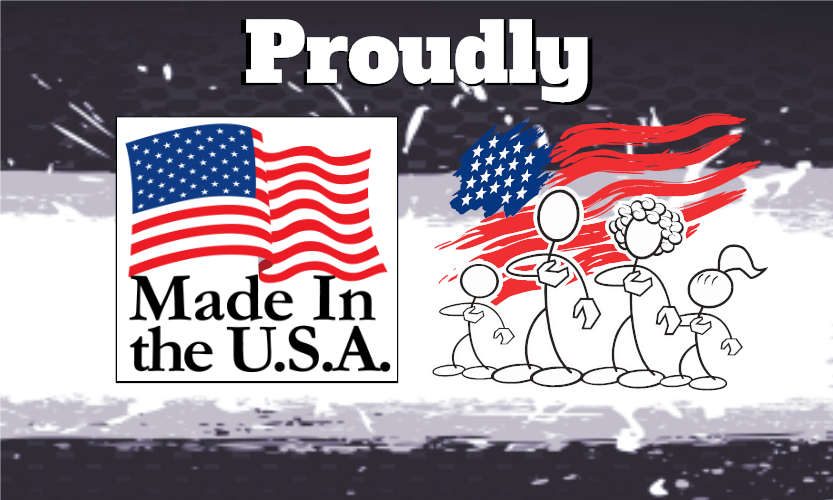 Buy American made vinyl stickers and decals.